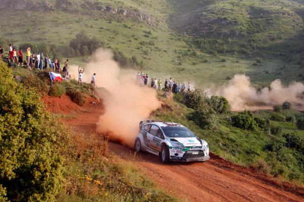 Round 07 Acropolis Rally. 16th - 19th June 2011.Matthew Wilson, Ford WRC, Action.Worldwide Copyright: McKlein/LAT
