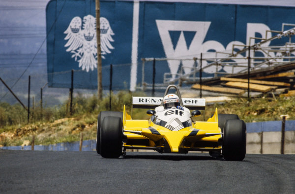 Alain Prost, Renault RE30B.