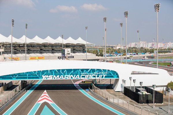 A view of the track.
