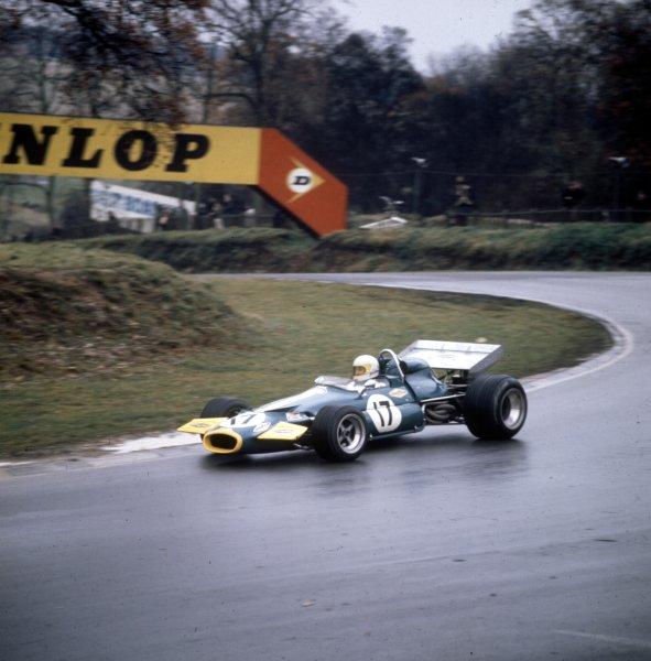 1970 British Grand Prix.Brands Hatch, England.16-18 July 1970.Jack Brabham (Brabham BT33 Ford) 2nd position.Ref: 3/4109AC.World Copyright - LAT Photographic