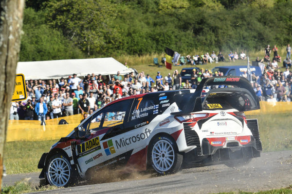 Being based in central Europe, Rallye Deutschland is always a popular rally with fans.