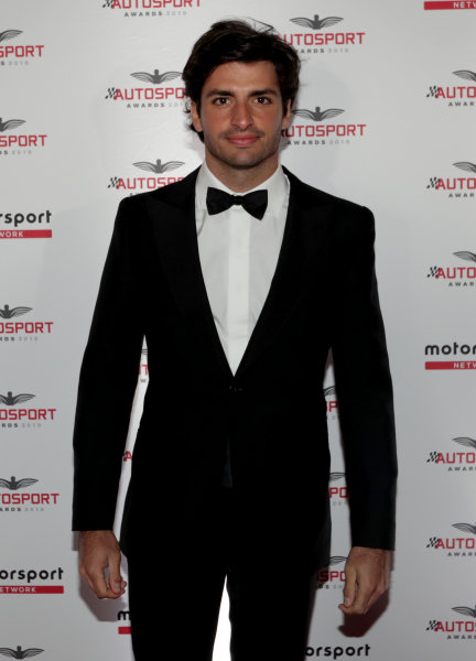 Carlos Sainz Jr. on arrival