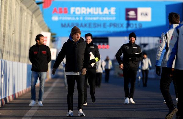 Felipe Massa (BRA), Venturi Formula E, walks the track