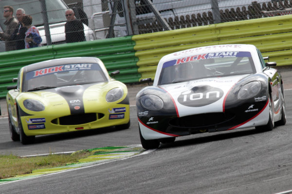 2015 Ginetta GT4 Supercup, Croft, 27th-28th June 2015,  Devlin Defrancesco World copyright. Jakob Ebrey/LAT Photographic