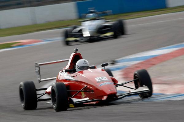 2013 MSA Formula Ford Championship of Great Britain. Donington Park, Leicestershire. 20th - 21st April 2013. Juan Rosso (ARG) Jamun Racing Formula Ford 200. World Copyright: Ebrey / LAT Photographic.