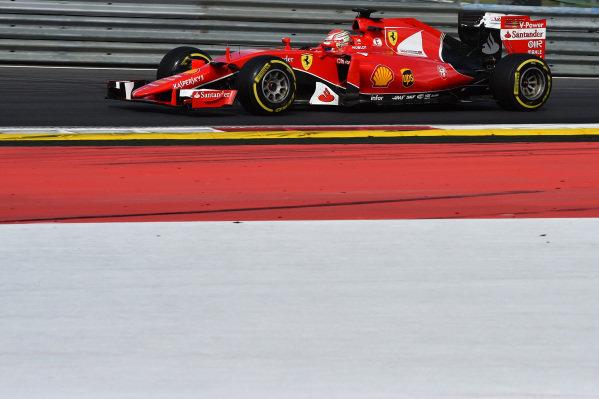 Antonio Fuoco (ITA) Ferrari SF15-T  Formula One Testing, Day One, Spielberg, Austria, Tuesday 23 June 2015.