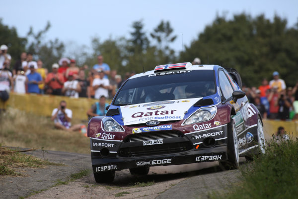 2013 FIA World Rally Championship Round 09-Rally Germany 21-25/8 2013. Mads Ostberg, Ford, Action  Worldwide Copyright: McKlein/LAT