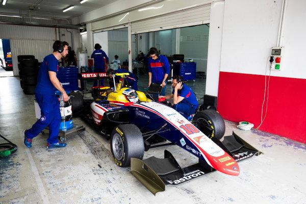 2016 GP3 Series Test 3. Circuit Ricardo Tormo, Valencia, Spain. Wednesday 26 April 2017. Giuliano Alesi (FRA, Trident)  Photo: Sam Bloxham/GP3 Series Media Service. ref: Digital Image _J6I3611