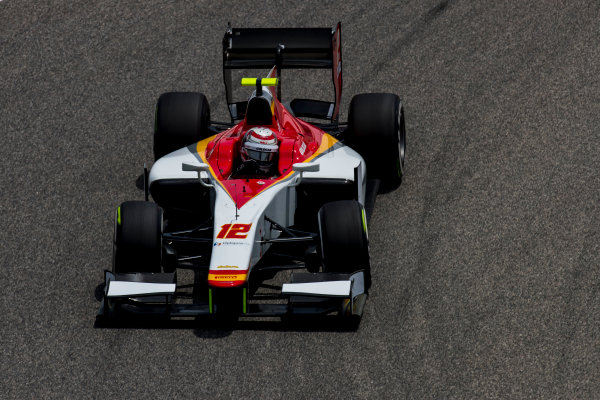 2017 FIA Formula 2 Round 1. Bahrain International Circuit, Sakhir, Bahrain.  Friday 14 April 2017. Stefano Coletti (MON, Campos Racing)  Photo: Zak Mauger/FIA Formula 2. ref: Digital Image _56I9582