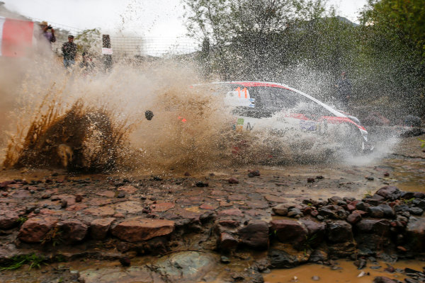 2017 FIA World Rally Championship, Round 03 , Rally Mexico, February 08-12, 2017, Juho Hanninen, Toyota, Action, Worldwide Copyright: McKlein/LAT