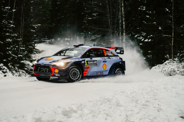 2017 FIA World Rally Championship, Round 02, Rally Sweden, February 09-12, 2017, Thierry Neuville, Hyundai, Action Worldwide Copyright: McKlein/LAT