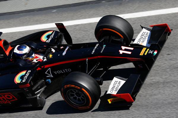 2016 GP2 Series Test 1. Circuit de Catalunya, Barcelona, Spain. Friday 11 March 2016. Gustav Malja (SWE, Rapax)  World Copyright: Sam Bloxham/LAT Photographic. ref: Digital Image _R6T9175