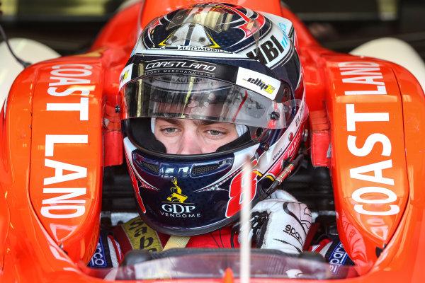 BUDAPEST (HUN) APR 22-24 2016 - Second round of the Formula V8 3.5 at the Hungaroring. Aurelien Panis #8 Arden Motorsport. Action. © 2016 Diederik van der Laan  / Dutch Photo Agency / LAT Photographic