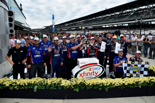 NASCAR XFINITY Series Lilly Diabetes 250 Indianapolis Motor Speedway, Indianapolis, IN USA Saturday 22 July 2017 William Byron, Liberty University Chevrolet Camaro wins World Copyright: Rusty Jarrett LAT Images