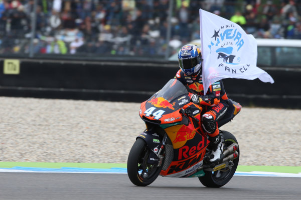 2017 Moto2 Championship - Round 8 Assen, Netherlands Sunday 25 June 2017 Miguel Oliveira, Red Bull KTM Ajo World Copyright: David Goldman/LAT Images ref: Digital Image 680228