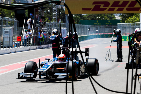 2017 FIA Formula 2 Round 4. Baku City Circuit, Baku, Azerbaijan. Saturday 24 June 2017. Luca Ghiotto (ITA, RUSSIAN TIME)  Photo: Zak Mauger/FIA Formula 2. ref: Digital Image _56I7668
