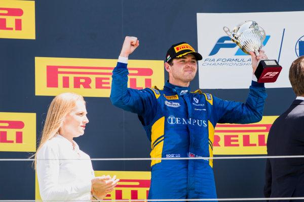 2017 FIA Formula 2 Round 7. Hungaroring, Budapest, Hungary. Sunday 30 July 2017.Oliver Rowland (GBR, DAMS).  Photo: Zak Mauger/FIA Formula 2. ref: Digital Image _54I4927