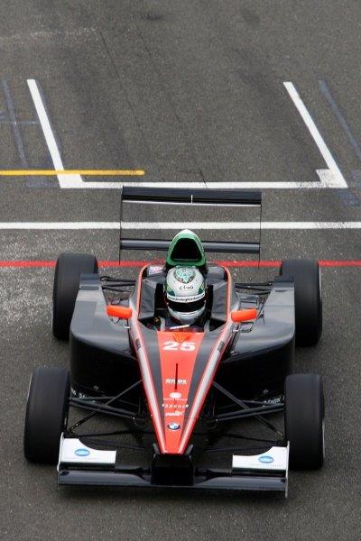 Kevin Gilardoni (ITA) FMSI. Formula BMW Europe, Rd 3, Silverstone, England, 18-21 June 2009.
