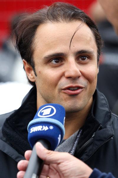 2014 DTM Championship Round 4 - Norisring, Germany 27th - 29th June 2014  Felipe Massa (BRA) Williams, Guest of Mercedes World Copyright: XPB Images / LAT Photographic  ref: Digital Image 3189807_HiRes