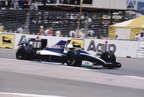 1990 Australian Grand Prix.Adelaide, Australia.2-4 November 1990.Stefano Modena (Brabham BT59 Judd).Ref-90 AUS 40.World Copyright - LAT Photographic