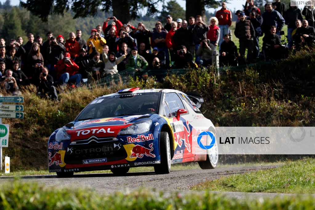 Round 11, Rallye de France 20124th - 7th October 2012Sebastien Loeb, Citroen, actionWorldwide Copyright: McKlein/LAT