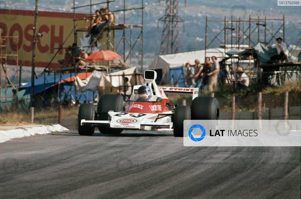 1974 South African Grand Prix.