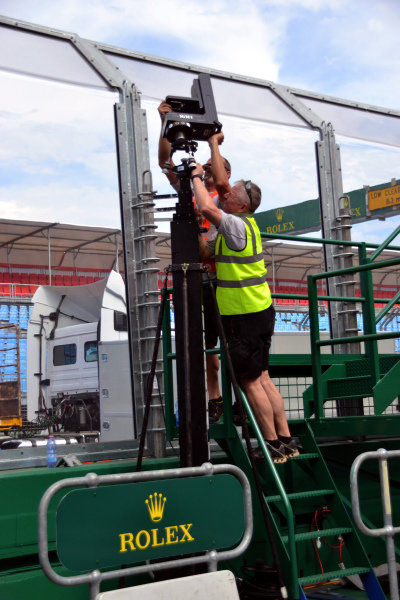 Camera is installed.