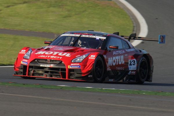 GT500 winner Tsugio Matsuda & Ronnie Quintarelli in the number 23 Motel Autech NISMO Nissan GT-R.