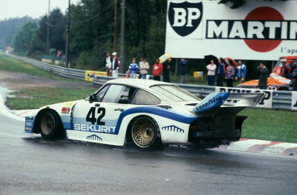 Le Mans, France. 9th - 10th June 1979.Edgar Doren/Dieter Schornstein/Gotz von Tschirnhau (Porsche 935/77), 7th position, action. World Copyright: LAT Photographic.Ref: 79LM17.