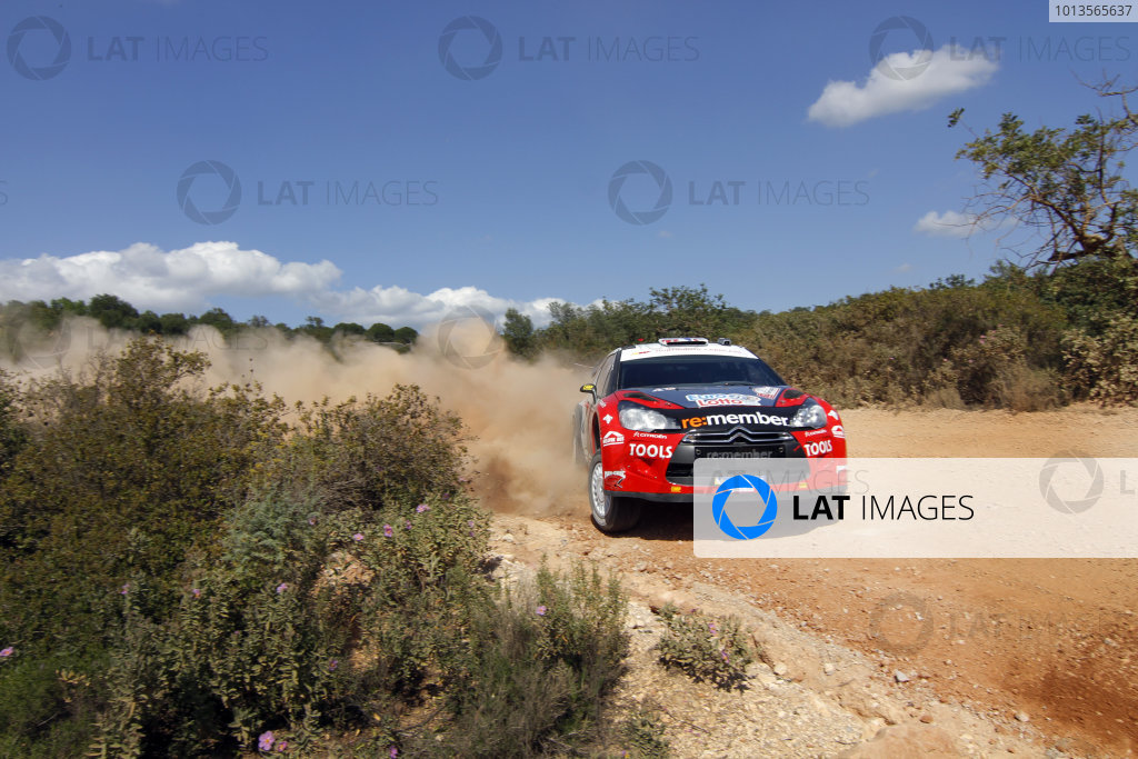 Round 03-Rally Portugal. 23th-27th March 2011.Petter Solberg, Citroen WRC, Action.Worldwide Copyright: McKlein/LAT