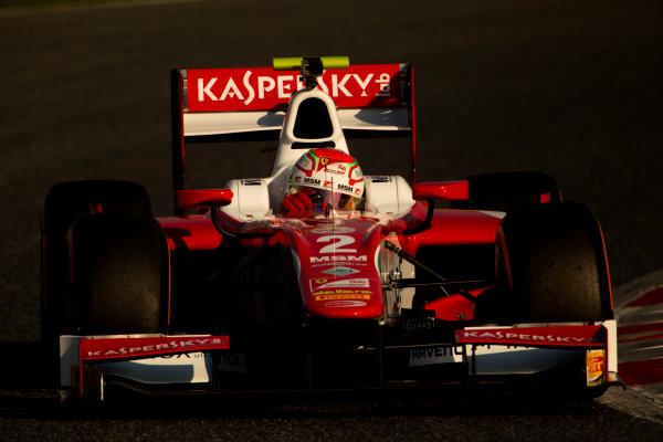 Circuit de Barcelona Catalunya, Barcelona, Spain. Monday 13 March 2017. Antonio Fuoco (ITA, PREMA Racing). Action.  Photo: Alastair Staley/FIA Formula 2 ref: Digital Image 585A7299