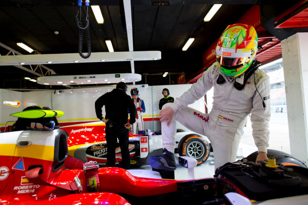 Circuit de Barcelona Catalunya, Barcelona, Spain. Tuesday 14 March 2017. Roberto Merhi (ESP, Campos Racing). Photo: Alastair Staley/FIA Formula 2 ref: Digital Image 580A0570