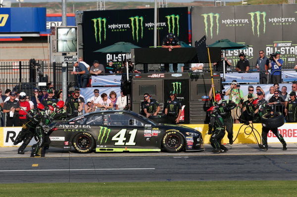 Monster Energy NASCAR Cup Series Monster Energy NASCAR All-Star Race Charlotte Motor Speedway, Concord, NC USA Friday 19 May 2017 Kurt Busch, Stewart-Haas Racing, Monster Energy Ford Fusion World Copyright: Matthew T. Thacker LAT Images ref: Digital Image 17CLT1mt1399