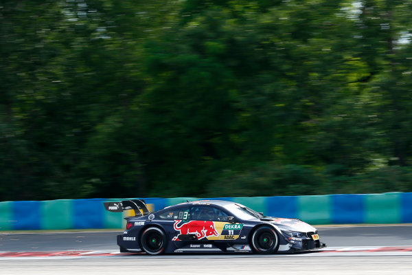 2017 DTM Round 3 Hungaroring, Budapest, Hungary. Friday 16 June 2017. Marco Wittmann, BMW Team RMG, BMW M4 DTM World Copyright: Alexander Trienitz/LAT Images ref: Digital Image 2017-DTM-R3-HUN-AT2-0281