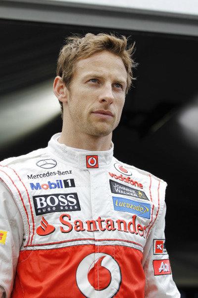 Albert Park, Melbourne, Australia15th March 2012.Jenson Button, McLaren. World Copyright:Steven Tee/LAT Photographicref: Digital Image _A8C0887