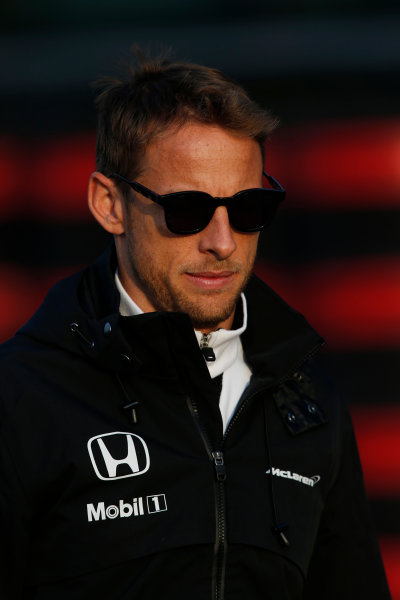 Shanghai International Circuit, Shanghai, China. Friday 10 April 2015. Jenson Button, McLaren. World Copyright: Charles Coates/LAT Photographic. ref: Digital Image _N7T9818