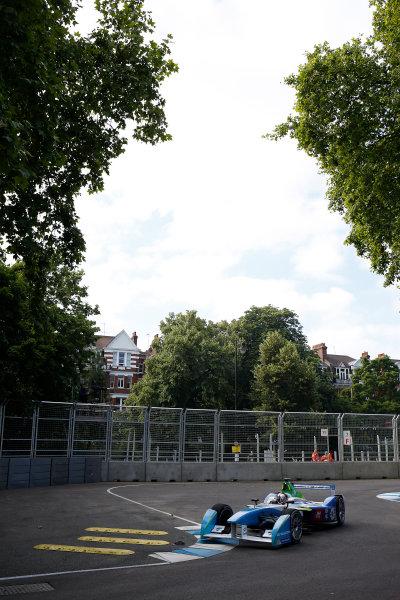 2014/2015 FIA Formula E Championship. London e-Prix, Battersea Park, London, UK. Saturday 27 June 2015. Jarno Trulli (ITA)/Trulli Racing - Spark-Renault SRT_01E World Copyright: Glenn Dunbar/LAT Photographic/Formula E. ref: Digital Image _89P7623