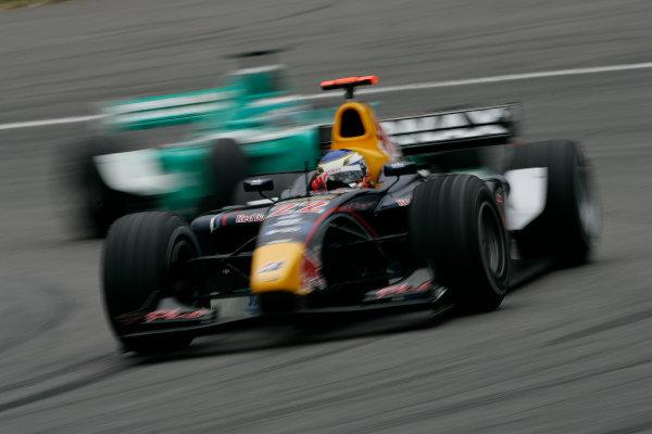 2005 GP2 Series - GermanyHockenheimring, Hockenheim22th - 24th July 2005Friday PracticeHeikki Kovalainen ( fin, Arden) Action. World Copyright: GP2 Series Media Service ref: Digital Image Only