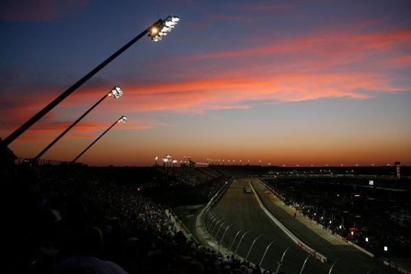 7 - 8 May 2010, Darlington, South Carolina USASunset over Darlington Raceway© 2010 - LAT South USALAT Photographic