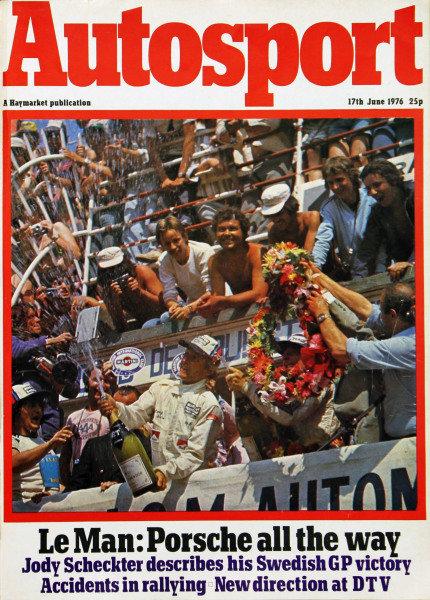 Cover of Autosport magazine, 17th June 1976