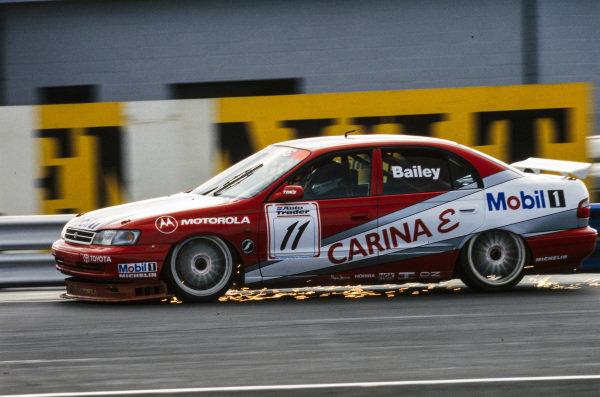 Julian Bailey, Team Toyota GB, Toyota Carina E.