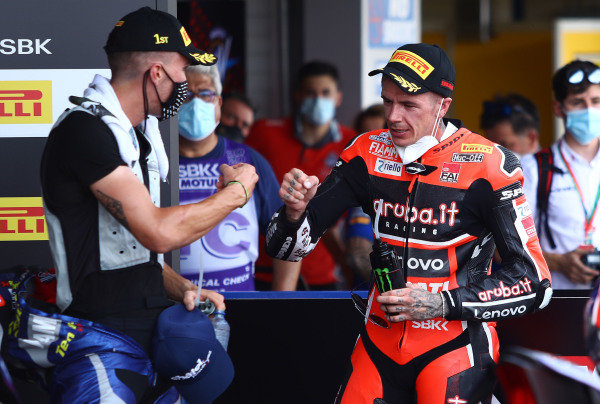 Scott Redding, Aruba.it Racing Ducati, Jorge Viegas, FIM president.