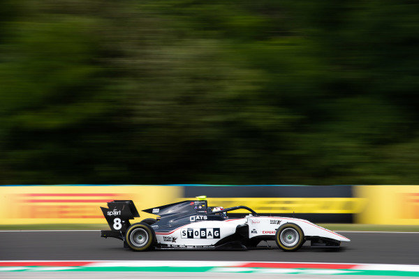 HUNGARORING, HUNGARY - AUGUST 02: Fabio Scherer (CHE, Sauber Junior Team by Charouz) during the Hungaroring at Hungaroring on August 02, 2019 in Hungaroring, Hungary. (Photo by Joe Portlock / LAT Images / FIA F3 Championship)