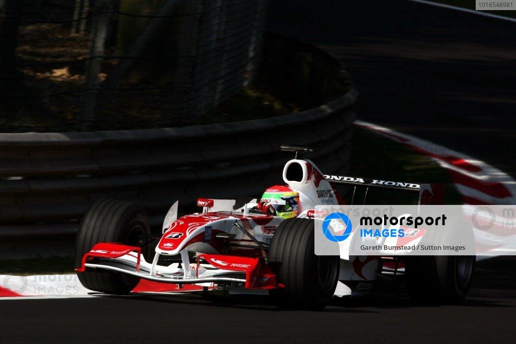 Sakon Yamamoto (JPN) Super Aguri F1 SA06. Formula One World Championship, Rd 15, Italian Grand Prix, Qualifying Day, Monza, Italy, 9 September 2006. DIGITAL IMAGE