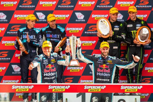Shane van Gisbergen, Garth Tander, Triple Eight Race Engineering Holden