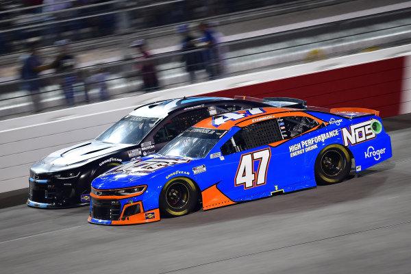 #47: Ricky Stenhouse Jr., JTG Daugherty Racing, Chevrolet Camaro NOS Energy Drink, #7: Corey LaJoie, Spire Motorsports, Chevrolet Camaro Shavelogic