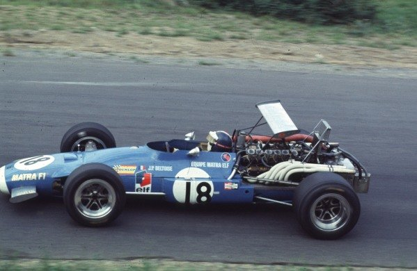 1968 Canadian Grand Prix.Mont-Tremblant, (St. Jovite), Quebec, Canada.20-22 September 1968.Jean-Pierre Beltoise (Matra MS11).Ref-68 CAN 32.World Copyright - LAT Photographic