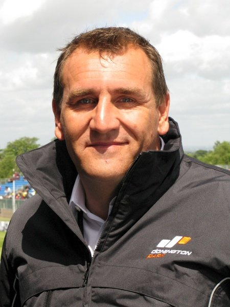 L-R: Simon Gillett (GBR) Chief Executive of Donington Park.