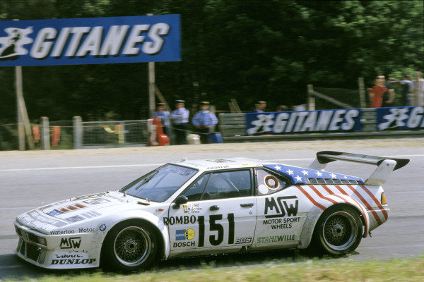 1985 Le Mans 24 Hours 15th - 16th June. Le Mans, France The no. 151 BMW M1 of Libert, Birrane and Doren in action. This car finished in 1st Position in Group B. World Copyright: LAT Photographic ref: 85LM14.