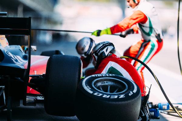 2016 GP2 Series Testing. Jerez, Spain. Thursday 31 March 2016 Antonio Giovinazzi (ITA) PREMA Racing   World Copyright: Malcolm Griffiths/LAT Photographic. ref: Digital Image _G7C9473